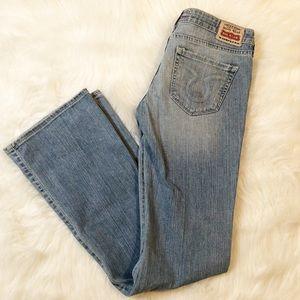 Big Star sweet light wash denim jeans 27 regular